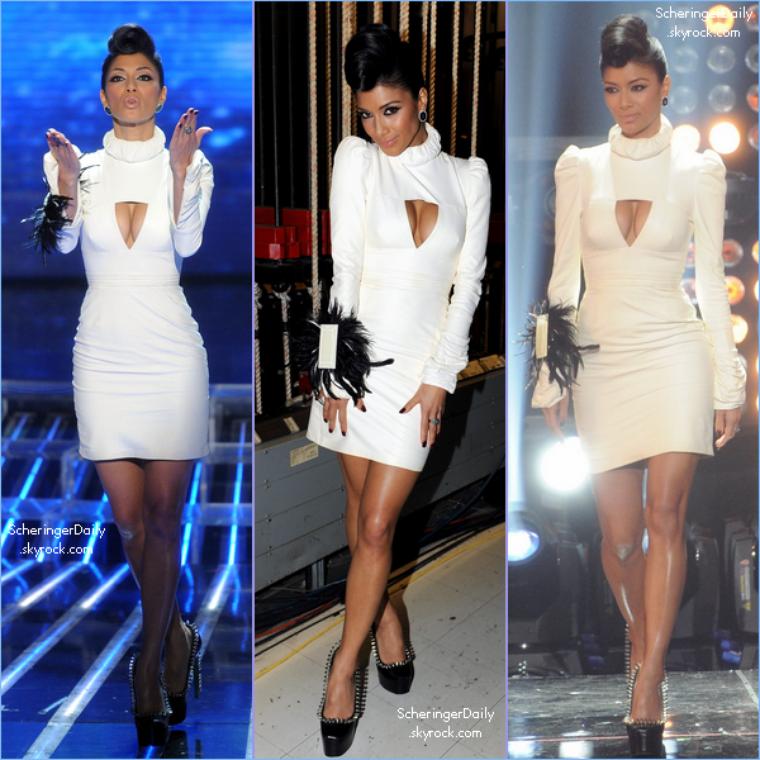 -- Mercredi 21 Décembre 2011 : Nicole était présente à la première partie de final de la première saison d'X-Factor US.. --