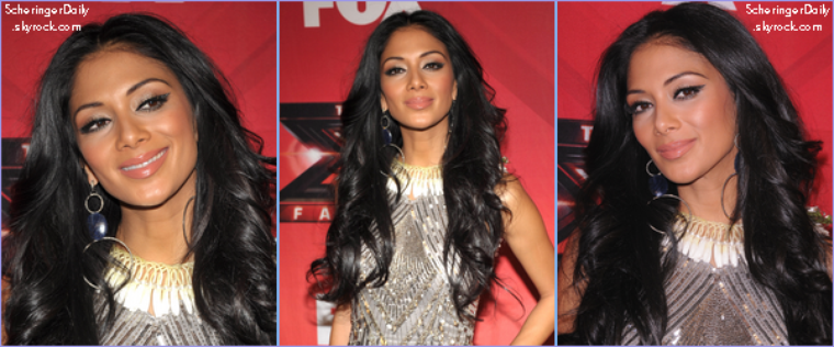 -- Jeudi 22 Décembre 2011 : Nicole était présente pour la deuxième partie de la final d'X-Factor, où Josh Krajcik a fini deuxième.. --
