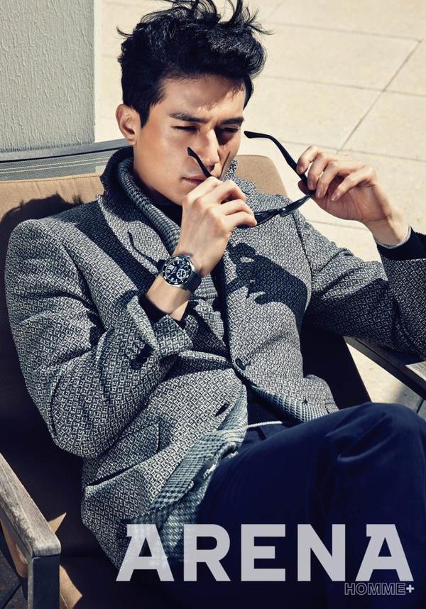 """L'acteur  Lee Dong Wook  pour le magazine """"Luel"""" -Janvier 2014 + Arena - Octobre 2014  Une demande de ILive-ForThem"""