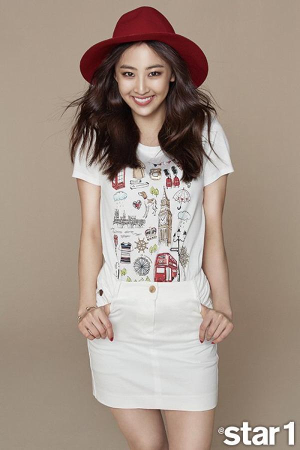 """사진   Da Som  du groupe SISTAR pour le magazine """"Star1"""", Mai 2015   김다솜"""