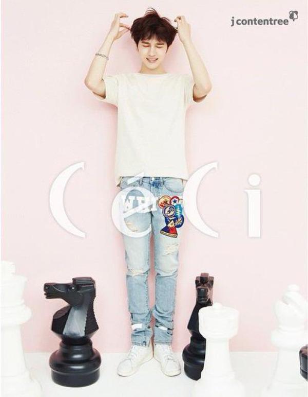 사진   Ken  du groupe VIXX pose pour le magasine CéCi , Juillet 2015    빅스