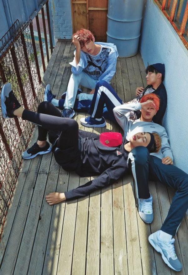 BTS pour 1st look Korea vol. 95