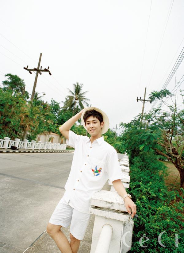Lee Joon pour le magazine CéCi, juillet 2016
