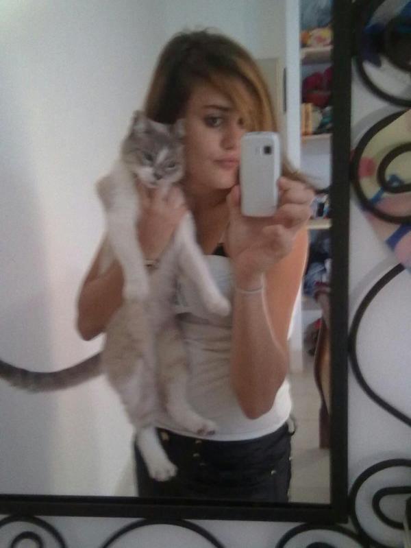 Mn bebe chat ma raison de vivre