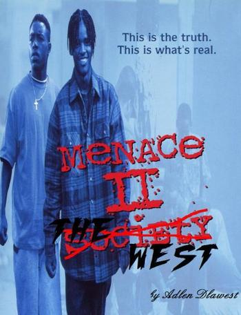 MENACE II THE WEST vol1 et 2 (COMPIL RAP US)