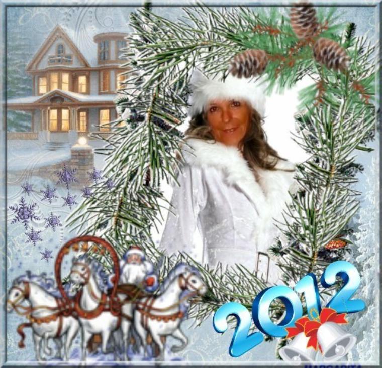 BONNE ET HEUREUSE ANNEE 2012 A VOUS MES AMI(ES) CE SOIR JE VAI GARDER MES DEUX PETITS FILS GROS BISOUS A DEMAIN BON REVEILLON A VOUS BICHEDU54