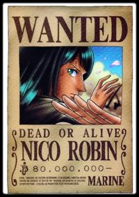 Nico Robin : nouvelle apparence?