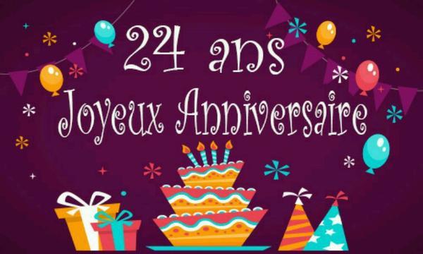 24 ans aujourd'hui