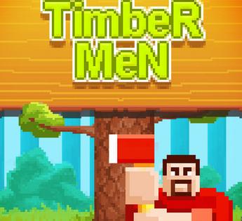 Timber Men : un jeu d'adresse qui t'initie au métier de bûcheron