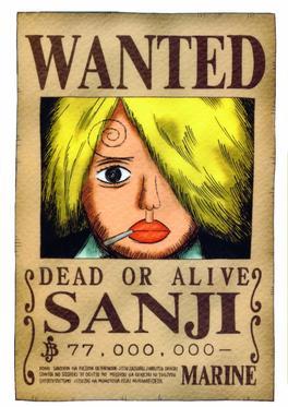 Et c'est parti pour Sanji !!