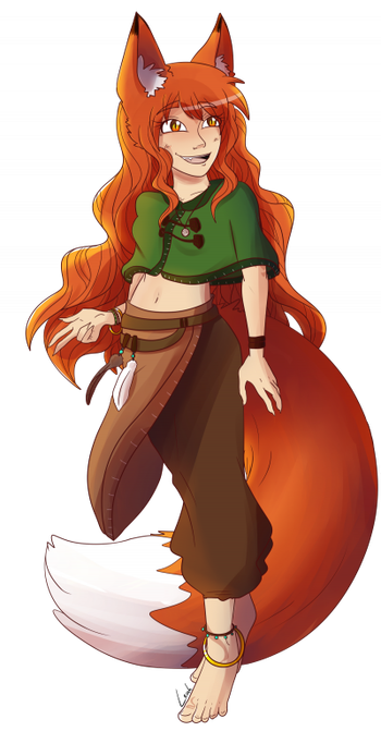 Fierce Fox (Leah reference)