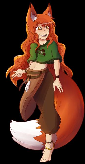 Fierce Fox (Leah reference)