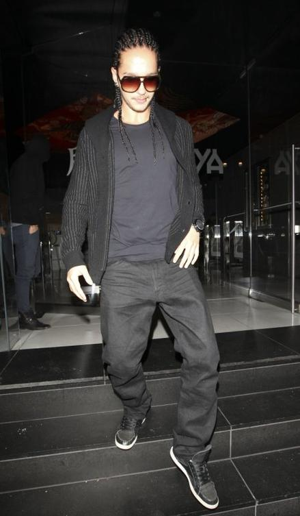 Bill & Tom leaving Katsuya restaurant (12.09.11)