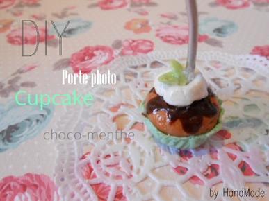 Cupcake choco-menthe ...