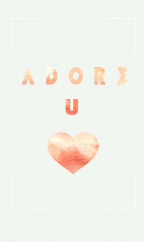 Adore U (Infos + Sommaire)