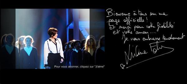 Liane Foly sur Facebook .
