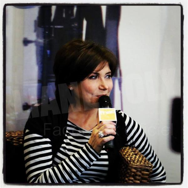 Liane Foly à Cannes.
