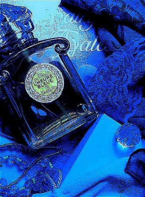 Ma couleur préférée le BLEU !
