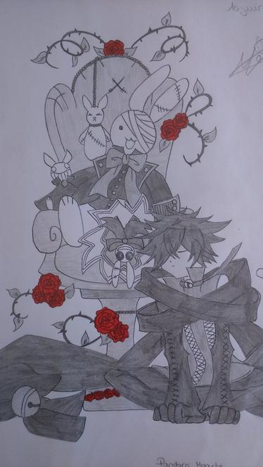 Dessins spécials Pandora Hearts