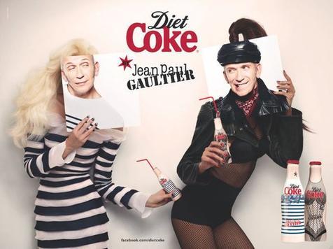 Jean Paul Gaultier pour Coca Cola