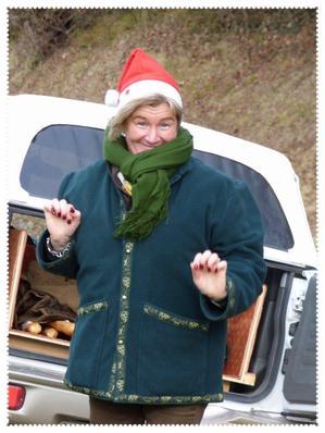 Ho !!! La Mère Noel !!!!