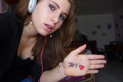 malgrès tout se qui à pu se passer je t'aime ! ♥