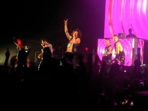 Comme promis ; concert LMFAO à Amnéville le 13 mai 2012