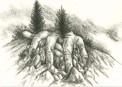 (412) - Landscape Hand