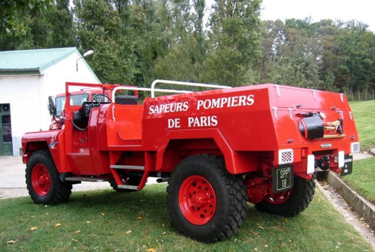 VEHICULES DES POMPIERS DE PARIS  : LE SPP