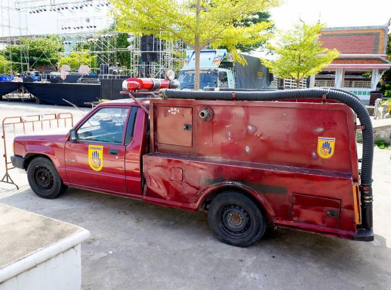 CAMION DE POMPIER DE BANGKOK