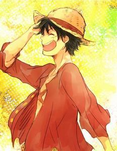 Les personnages de l'équipage du chapeau de paille : Luffy
