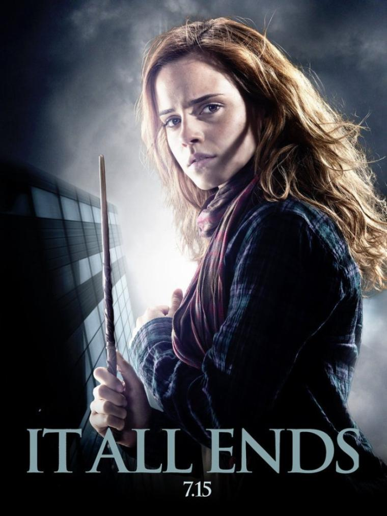 New poster Hermione .
