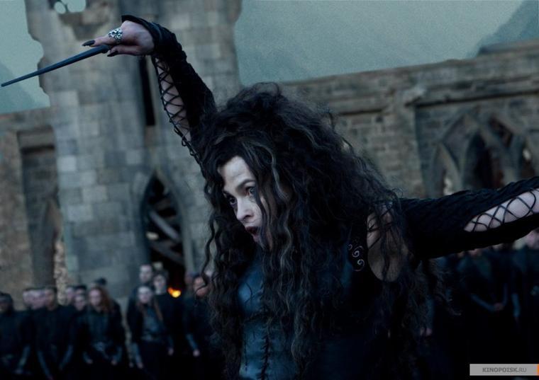 Nouvelle baguette de Bellatrix .