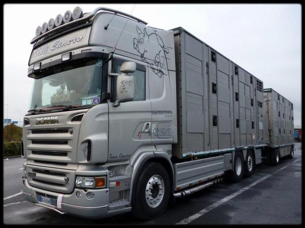 Scania R620 v8 F.lli Cancro ( Photographe Julien Devassine )