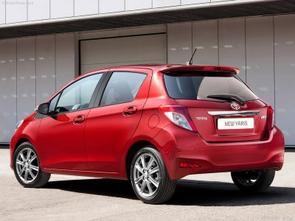 La nouvelle de la semaine : Toyota Yaris Hatchback 2012