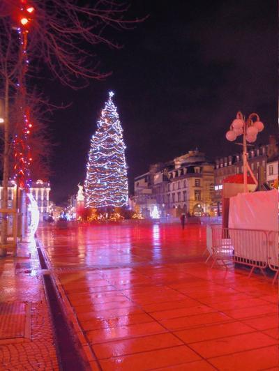 Quelques souvenirs de Clermont-Ferrand, juste après Noël.