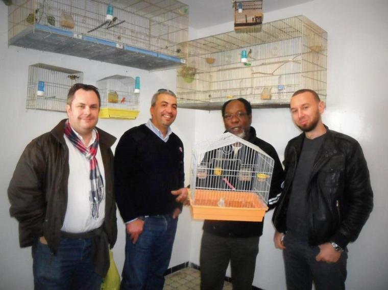 Visite Mr Thierry Delestrad (ornipharma ) et Jacque mormin