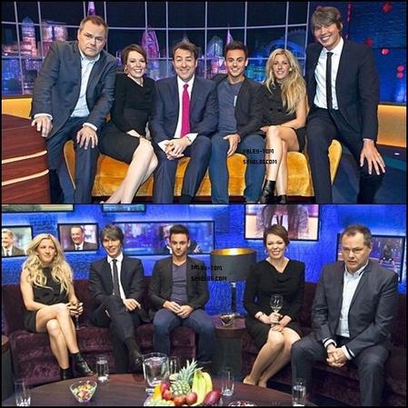 04.12.2013 - Tom a l'émission The Jonathan Ross Show.