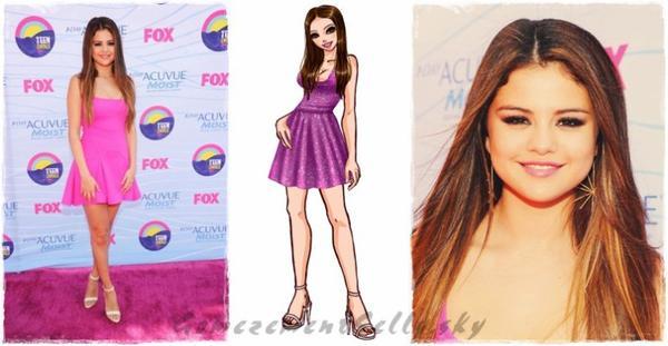 Selena Gomez - TCA's 2012.