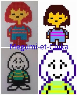 Pixel Art : Personnages d'Undertale ( partie 1 )