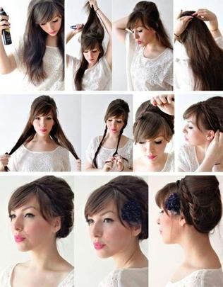 Beauté & Mode : coiffures (faciles) pour les fêtes !