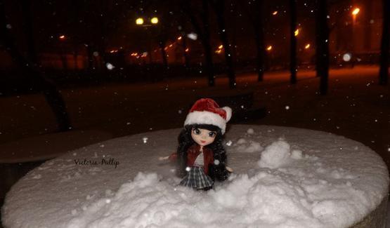 Emilie dans la neige (1)