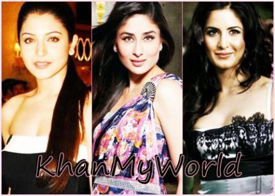 Anushka VS Kareena VS Katrina