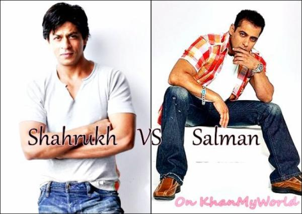 Shahrukh khan VS Salman Khan