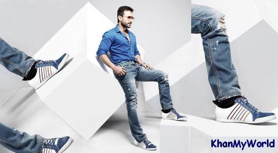 Saif Ali Khan - Publicité