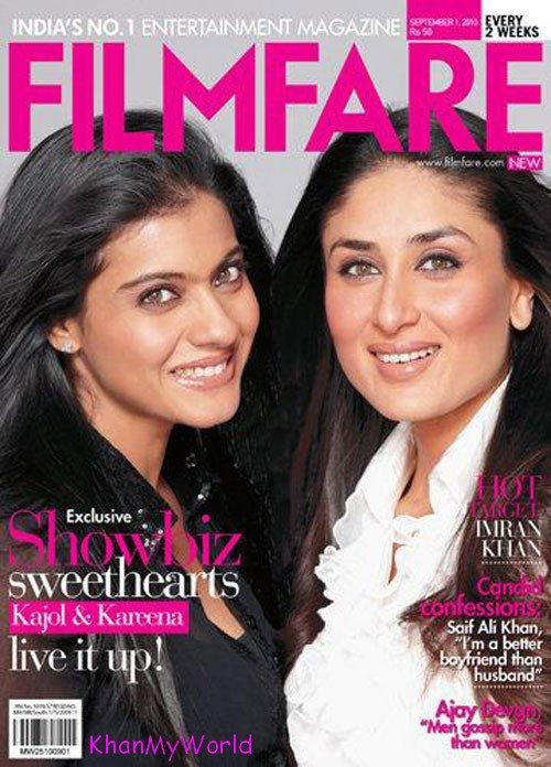 Kajol & Kareena - Magazine Cover