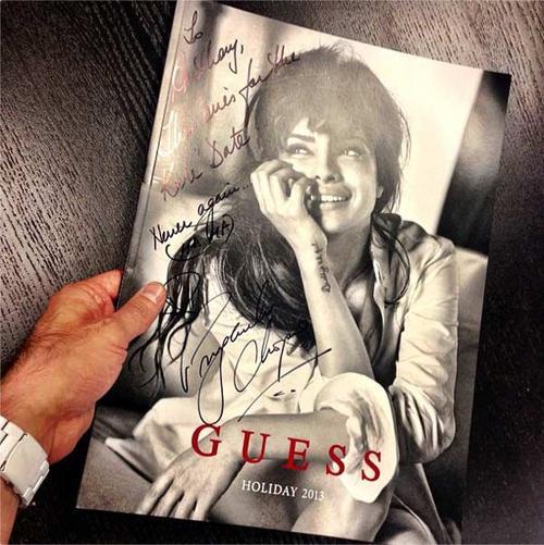 Priyanka Chopra = la toute première Guess girl indienne !