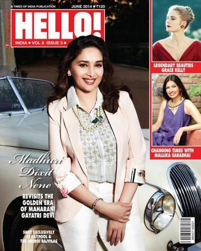 Magazine cover ( June 2014 )