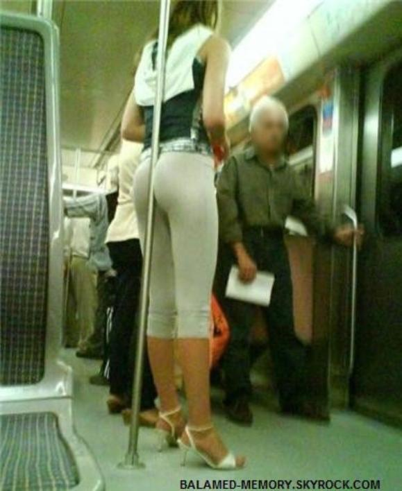 HUMOUR DE LA SEMAINE : Se tenir dans le métro... sans les mains !