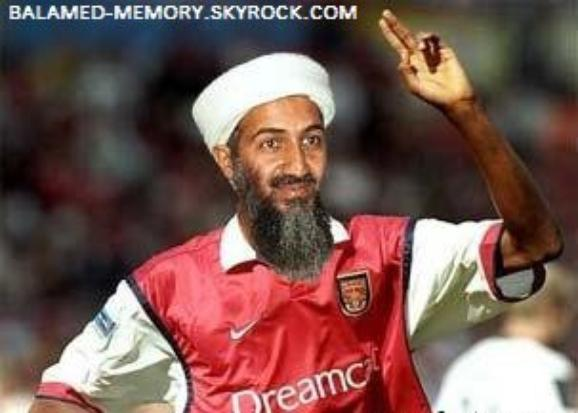 HUMOUR DE LA SEMAINE : Oussama Ben Laden à Arsenal